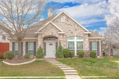Allen Single Family Home For Sale: 834 Heritage Parkway S