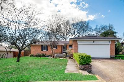 Irving Single Family Home Active Option Contract: 1708 E Union Bower Road