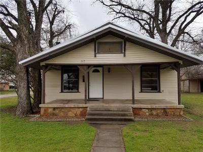 Eastland County Single Family Home For Sale: 217 E Valley