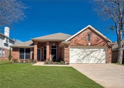 Corinth TX Single Family Home For Sale: $271,000