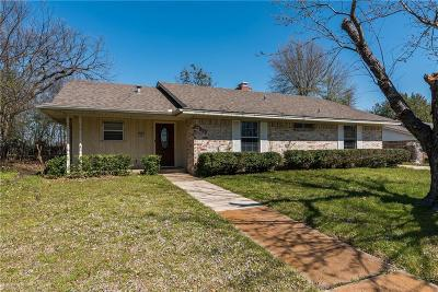 Sherman Single Family Home Active Option Contract: 1017 Canterbury Drive