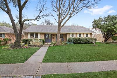Dallas County Single Family Home Active Option Contract: 9931 Larchbrook Drive