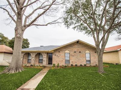 Garland Single Family Home For Sale: 2530 Sam Houston Drive