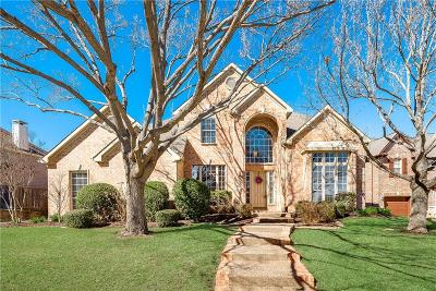 Flower Mound Single Family Home Active Option Contract: 3912 Ashburton Way