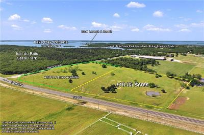 Denton County Residential Lots & Land For Sale: 10ac Fm 455 E
