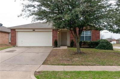 Fort Worth Single Family Home Active Option Contract: 8400 Minturn Drive