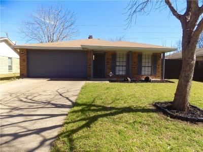 Garland Single Family Home Active Option Contract: 2434 Norway Drive