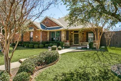Allen Single Family Home Active Option Contract: 1810 Combine Drive