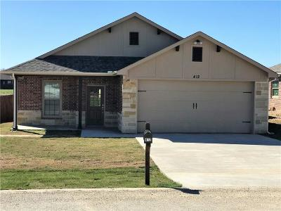 Hico Single Family Home For Sale: 412 Poplar
