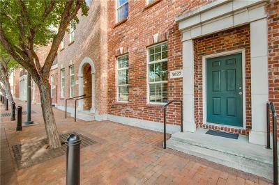 Addison Townhouse For Sale: 5027 Parkview