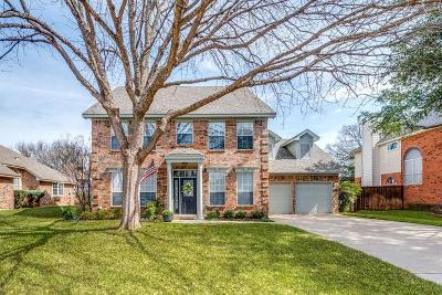 Grapevine Single Family Home For Sale: 4245 Willow Bend