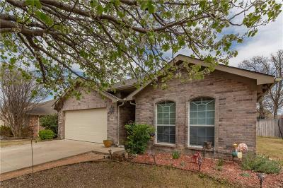 Azle Single Family Home Active Option Contract: 616 Kriston Drive