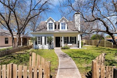 Mckinney Single Family Home For Sale: 1100 Hall Street