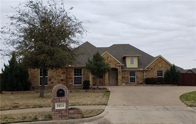 Kennedale Single Family Home Active Kick Out: 1113 Jake Circle