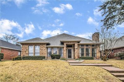 Carrollton Single Family Home Active Option Contract: 2027 Hearthstone Drive