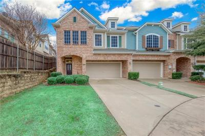 Irving Townhouse Active Option Contract: 4007 Rome Court