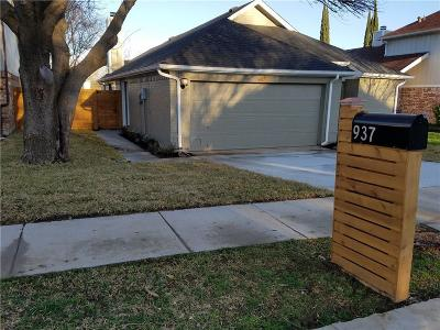 Lewisville Single Family Home For Sale: 937 Ramblewood Drive