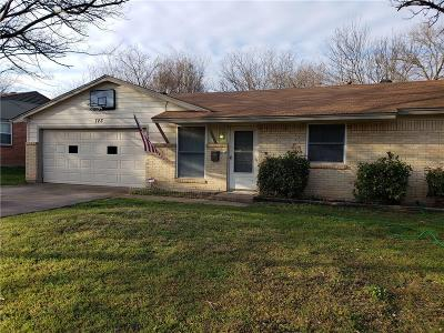 Duncanville Single Family Home Active Option Contract: 723 Wren Avenue