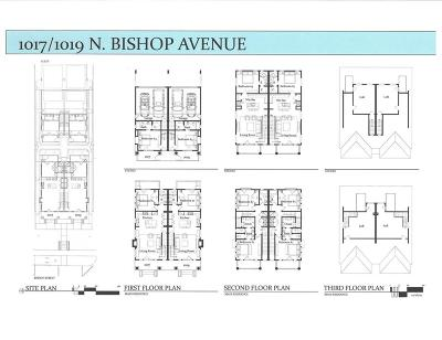Dallas  Residential Lease For Lease: 1019 N Bishop Avenue
