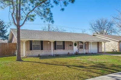 Irving Single Family Home Active Option Contract: 3121 Pamela Drive