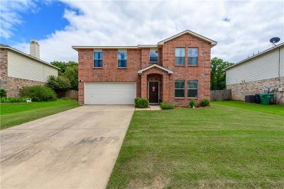 Single Family Home Active Contingent: 7721 Shoal Bend