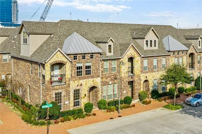 Plano Townhouse For Sale: 7921 Maddox Road