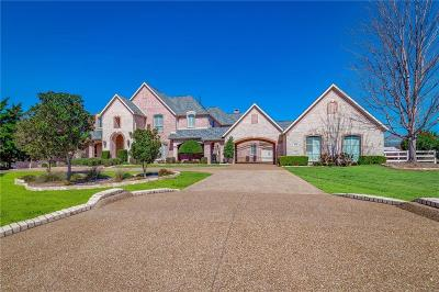 Flower Mound Single Family Home Active Option Contract: 4412 Chilton Lane