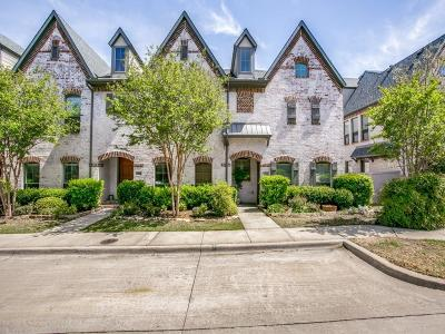 McKinney Townhouse For Sale: 1925 Desoto Drive