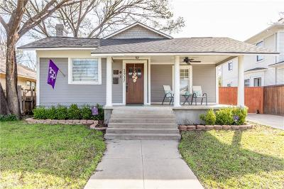Fort Worth Single Family Home For Sale: 1937 Hurley Avenue