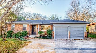 North Richland Hills Single Family Home Active Option Contract: 7216 Karen Drive