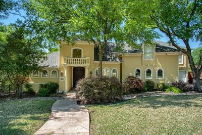 Denton County Single Family Home Active Option Contract: 6605 Shoal Forest Court