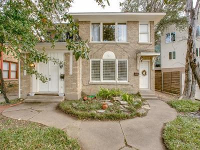 Dallas County Multi Family Home For Sale: 4006 Wycliff Avenue