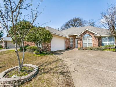 Garland Single Family Home For Sale: 405 Saddlebrook Drive