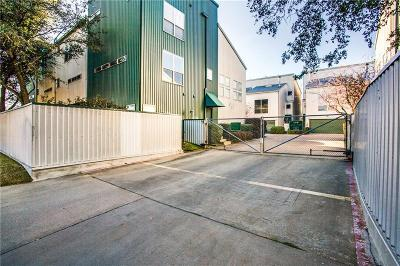 Dallas Townhouse For Sale: 3805 San Jacinto Street #B