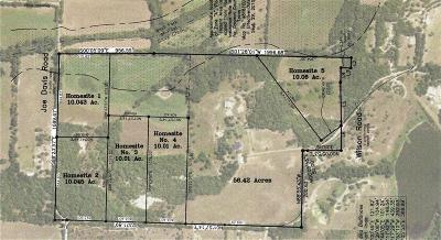 Grayson County Residential Lots & Land For Sale: Hs 3 Wilson Road