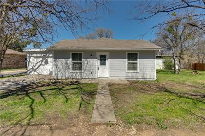 Lake Dallas Single Family Home Active Contingent: 715 Thompson Drive