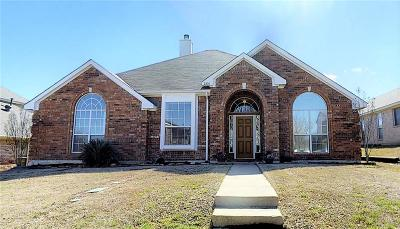 Sachse Single Family Home Active Option Contract: 2810 Southridge Drive