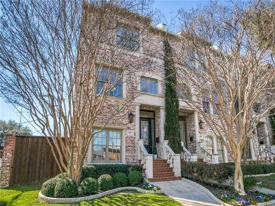 Dallas County Townhouse For Sale: 4041 Throckmorton Street