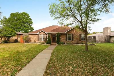 Plano Single Family Home Active Option Contract: 4015 Latham Drive