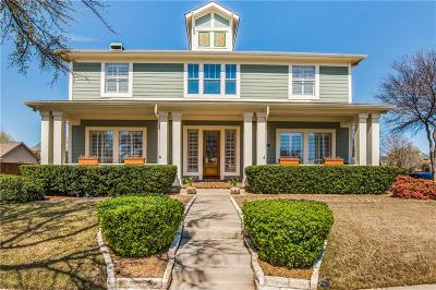 Carrollton Single Family Home For Sale: 1729 Bluffview Lane