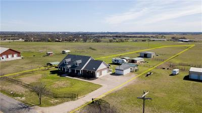 Waxahachie Single Family Home For Sale: 147 Lone Elm Road #Lot 2