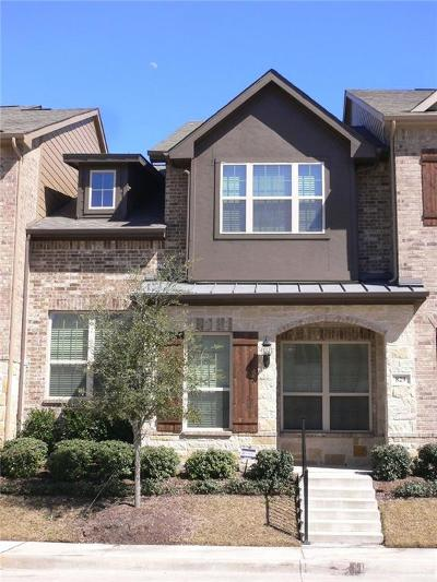 Richardson Townhouse For Sale: 829 Rohan Drive
