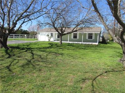 Parker County Single Family Home Active Option Contract: 110 Cedar Road