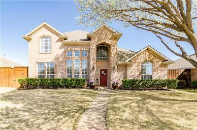 Frisco Single Family Home Active Option Contract: 10714 Dry Creek Lane