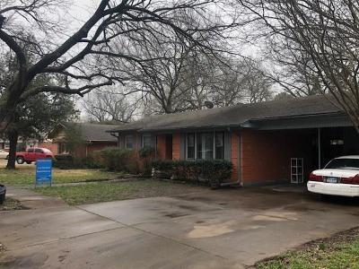 Cooke County Single Family Home Active Option Contract: 1710 Morningside Drive