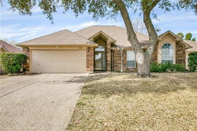 Arlington Single Family Home Active Option Contract: 5406 Flowerwood Court