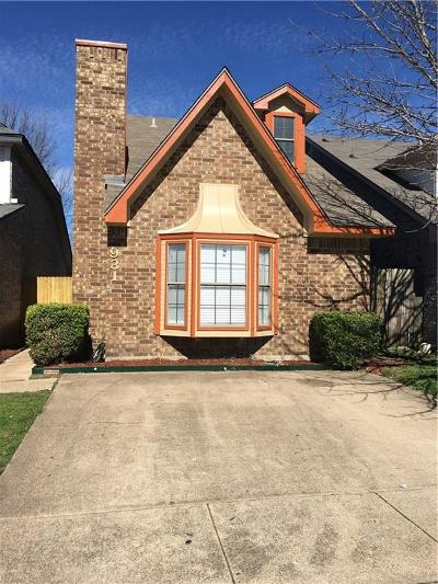 Duncanville Single Family Home Active Option Contract: 931 Fairbanks Circle