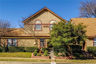 Carrollton Townhouse For Sale: 2021 Clubview Drive