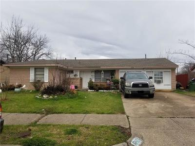 Garland Single Family Home Active Option Contract: 4110 Amherst Drive
