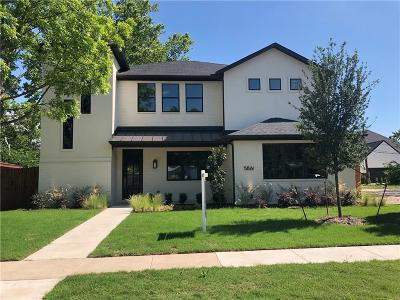 Tarrant County Single Family Home For Sale: 5861 Lyle Street